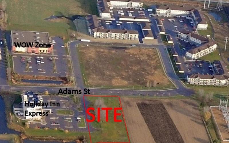 Adams St lot